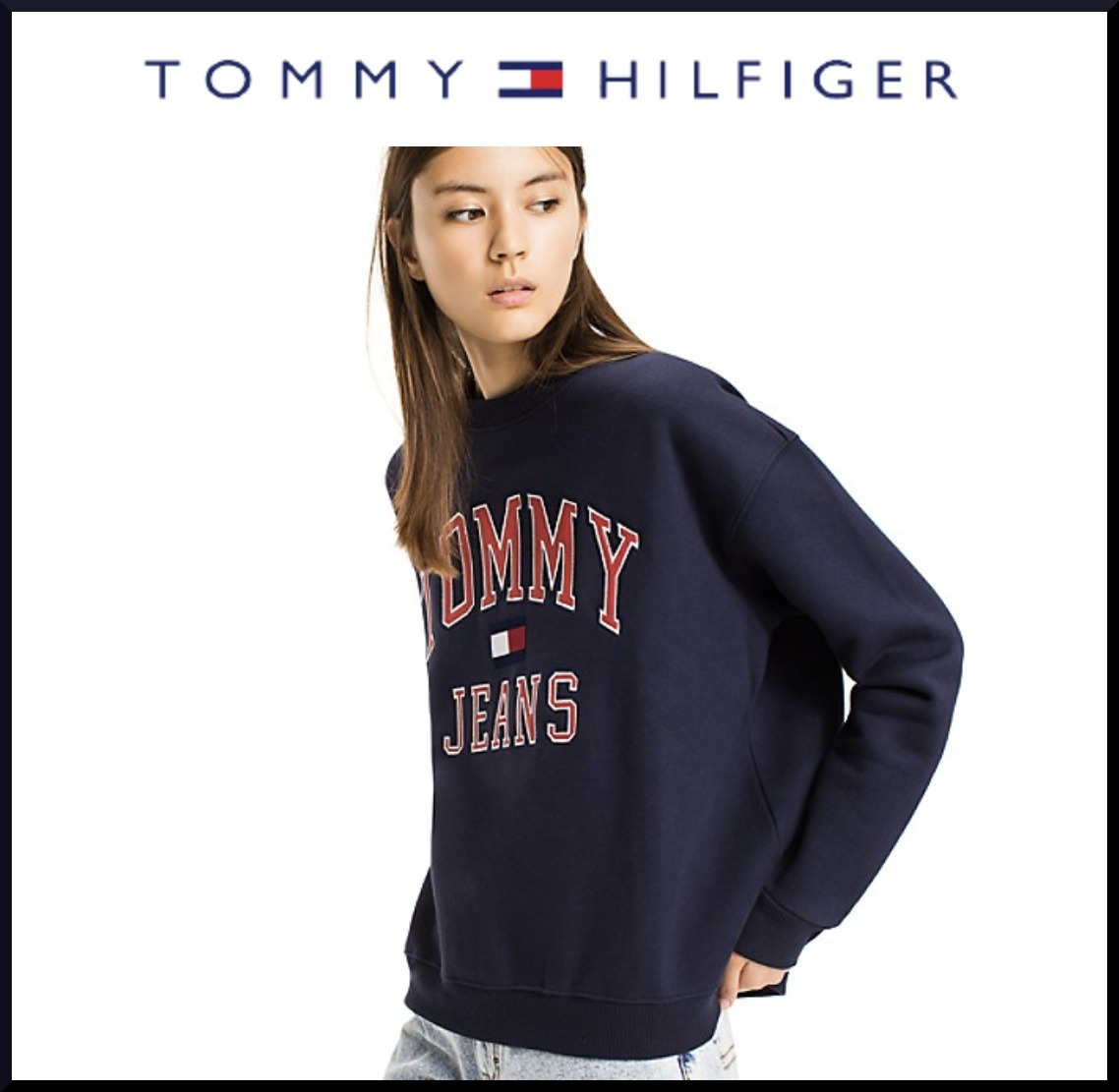 Tommy HilfigerトミーCAPSULE COLLECTIONロゴスウェット