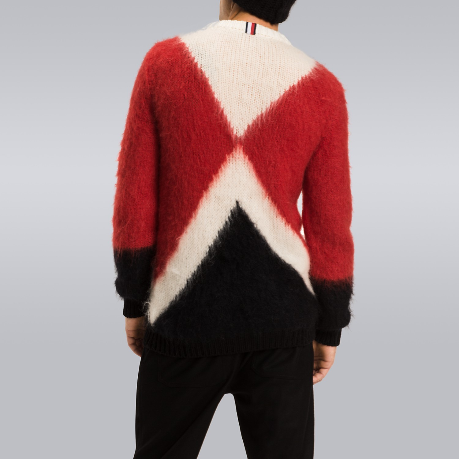 【Tommy Hilfiger】 17/18AW COLOR BLOCK MOHAIR SWEATER 追跡有