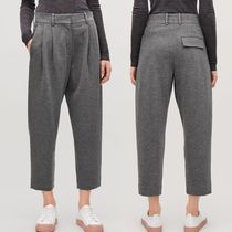 """""""COS""""RELAXED JERSEY TROUSERS GRAY"""