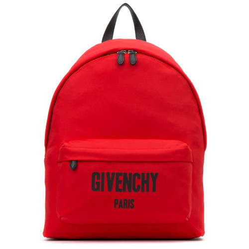 GIVENCHY★ロゴパッチ レッドナイロン バックパック 関税込み