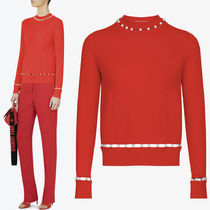 17-18AW G166 PEARL EMBELLISHED SWEATER