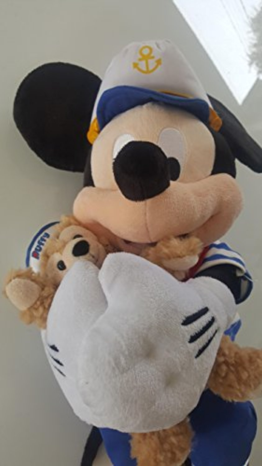◎送料込み◎ Disney 17 in Sailor Mickey Mouse with Duffy