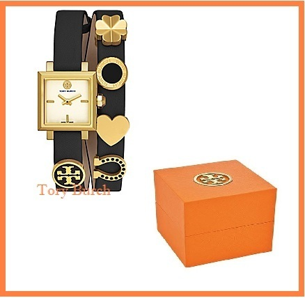 SALE   Tory Burch   SAUCY DOUBLE-WRAP WATCH  ♪
