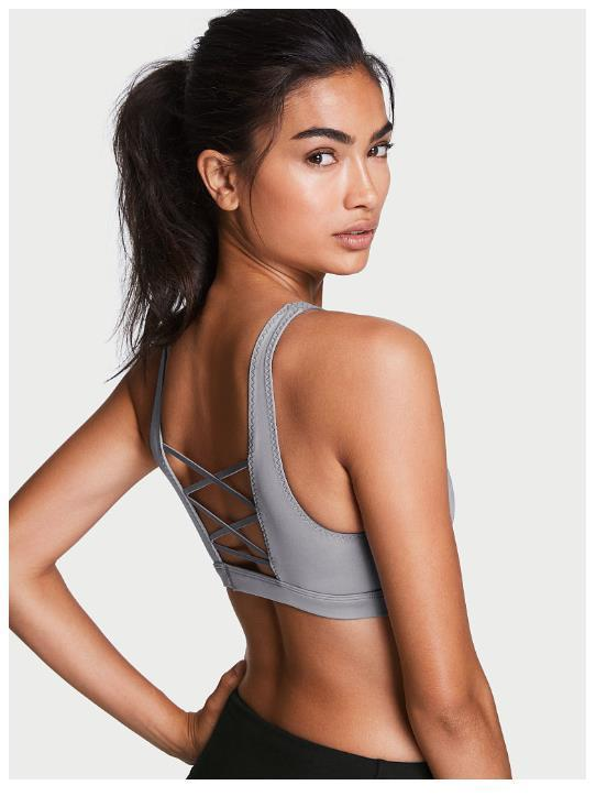 ◎送料込み◎ ★Grey Oasis★NEW! Crisscross-back Sport Bra