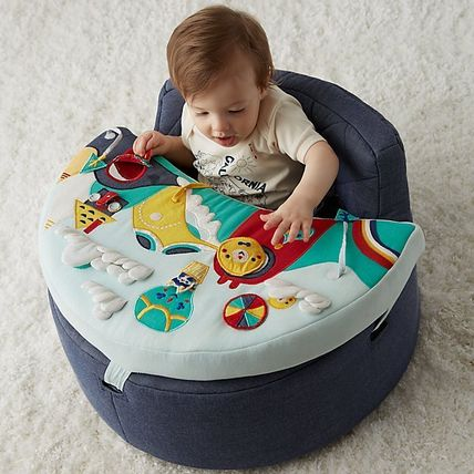 The Land of Nod ベビーチェア ベビーチェア★おもちゃ付き Baby Activity Chair(10)