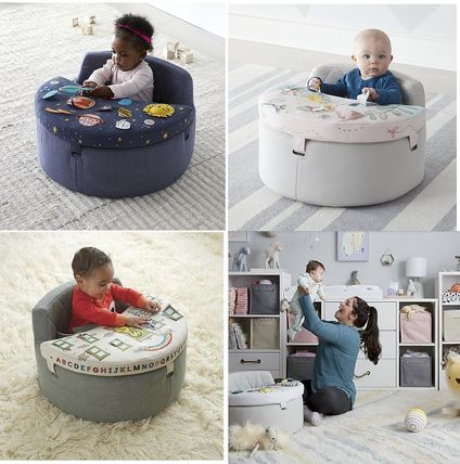 The Land of Nod ベビーチェア ベビーチェア★おもちゃ付き Baby Activity Chair(2)