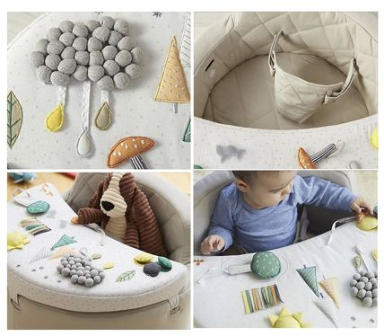 The Land of Nod ベビーチェア ベビーチェア★おもちゃ付き Baby Activity Chair(5)