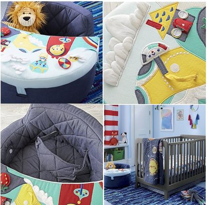 The Land of Nod ベビーチェア ベビーチェア★おもちゃ付き Baby Activity Chair(11)