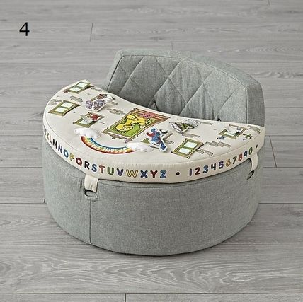 The Land of Nod ベビーチェア ベビーチェア★おもちゃ付き Baby Activity Chair(12)