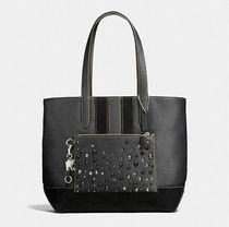 Coach ◆ 59427 Metropolitan soft tote with studs