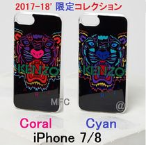 iPhone7/8 ホリデー限定 タイガー TIGER KENZOロゴ入り★パリ