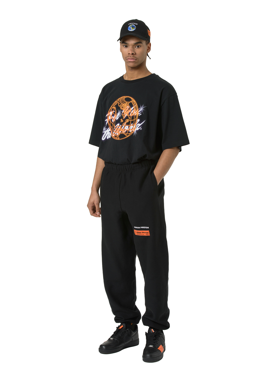 【HERON PRESTON】日本未入荷 For You The World printT