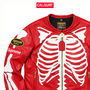 Supreme レザージャケット 登坂くん着用★Supreme/VANSON LEATHER BONES JACKET /RED