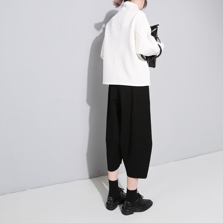 【送料無料】Oh Hey Girl Black Oval Structure Pant パンツ