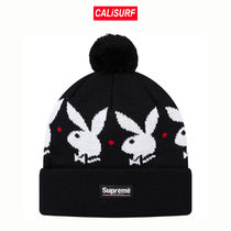 ★Supreme/PLAYBOY BEANIE /BLACK