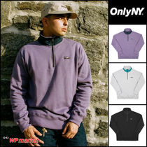 超人気★ONLY NY Logo Quarter Zip Pullover★【関税送料込】