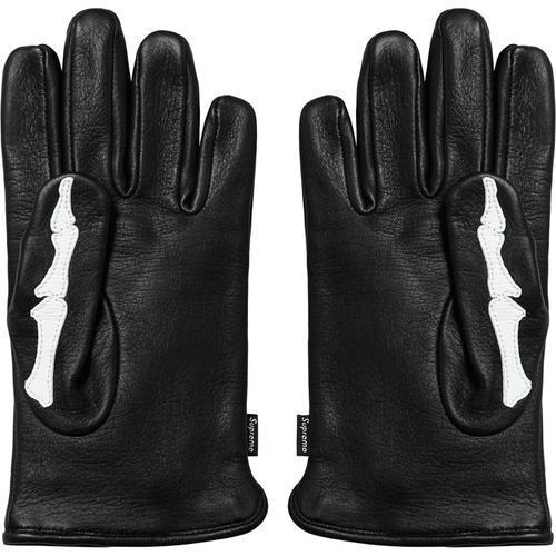 [SUPREME] FW17 Wk14 Vanson Leather X-Ray Gloves
