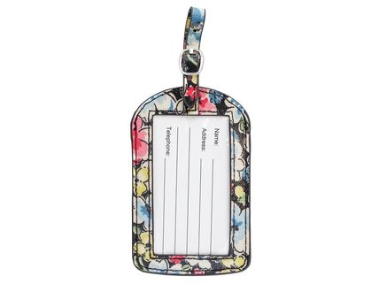 Cath Kidston ファッション雑貨・小物その他 Cath Kidston タグ 579605 LUGGAGE TAG O/C CHARCOAL k579605