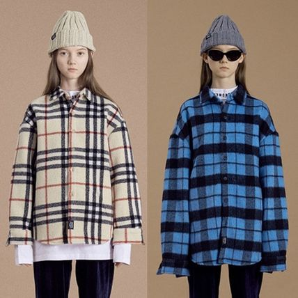 13MONTH☆ FLANNEL CHECK SHIRT JACKET 2色