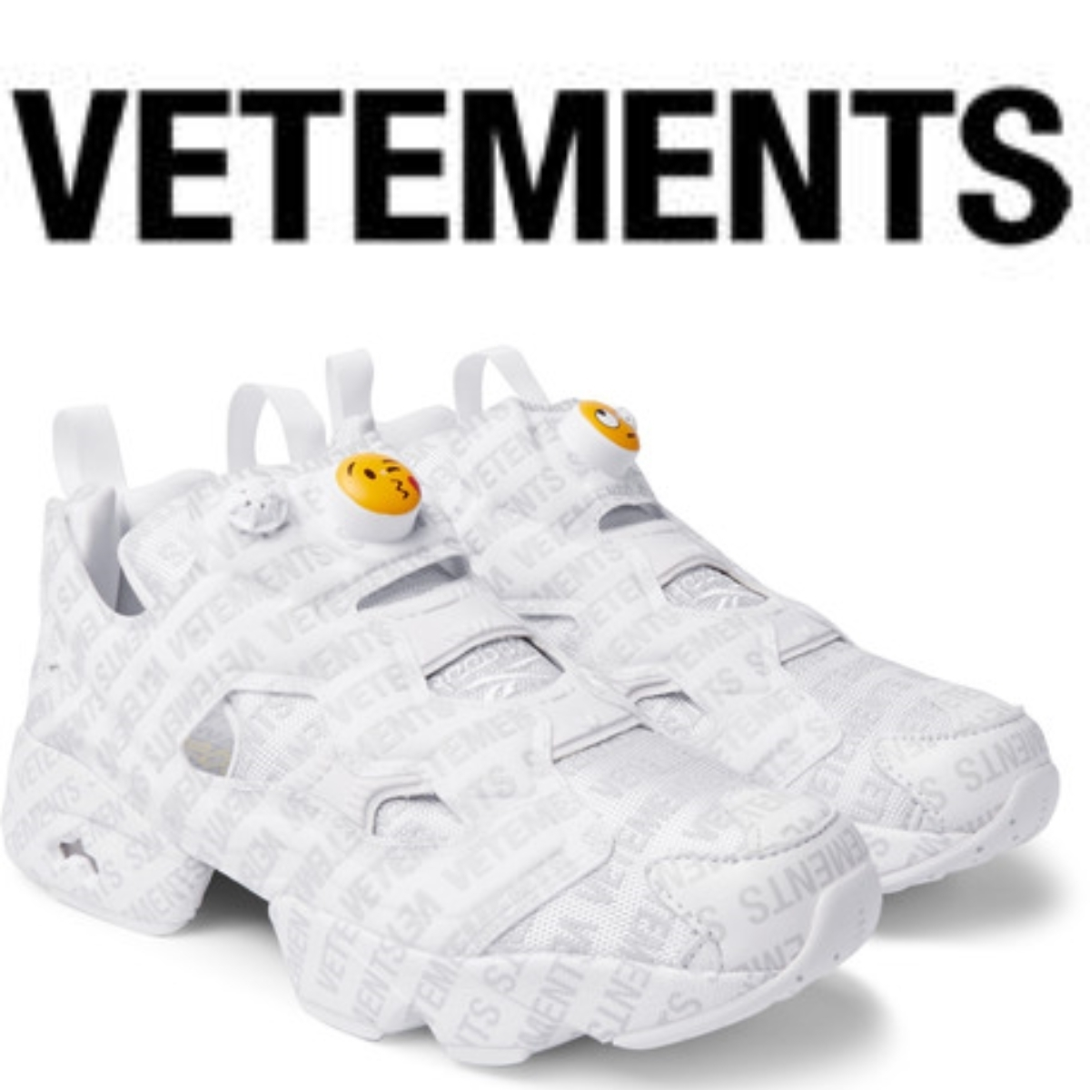 関税送料込☆VETEMENTS×Reebok☆InstaPump Fury☆グレー