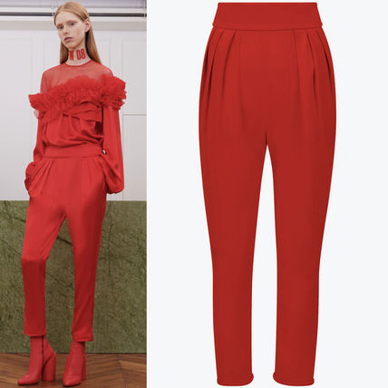 17-18AW G180 LOOK6 STRETCH CADY SAROUAL PANTS