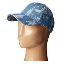 人気!Denim Distressed Baseball Cap 関税送料込み!