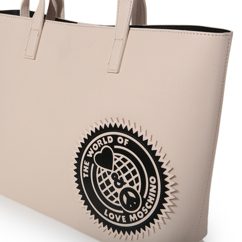 ★Love Moschino★ Torebka Tote bag Ivory「即発」