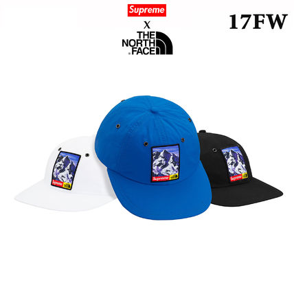 17FW SUPREME / THE NORTH FACE ( TNF ) Mountain 6-Panel Hat