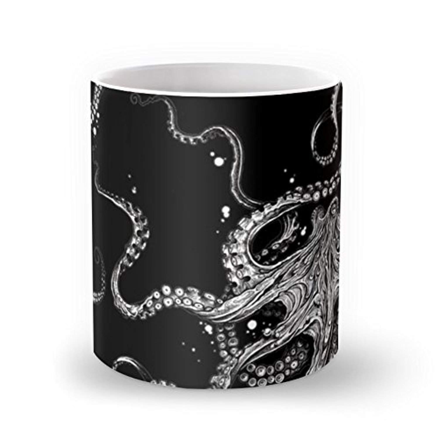 Society6 Octopus (black) Mug 11 oz