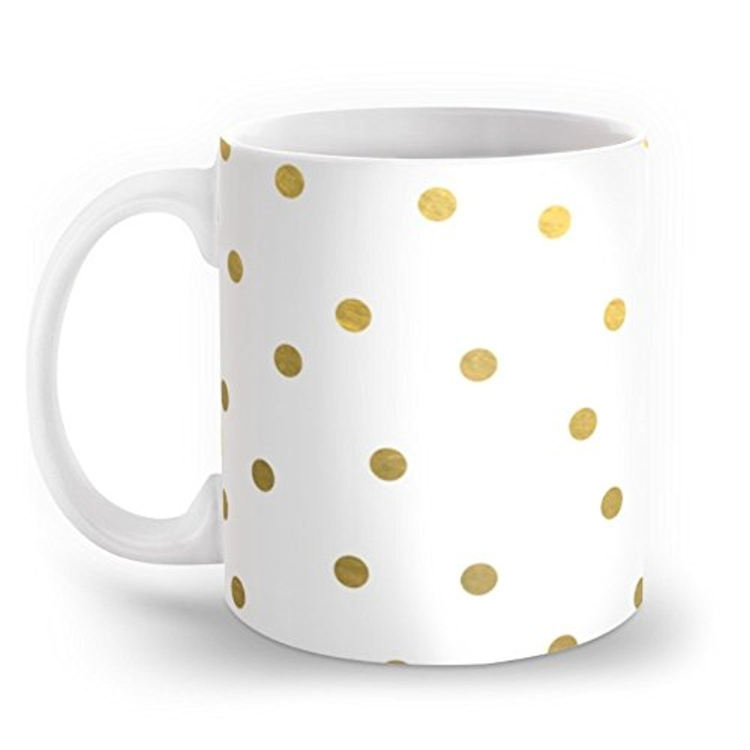 Society6 Good Things Come To Those Who Hustle Polkadots Mug