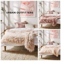 UrbanOutfitters☆MarisaTipped Faux Fur Throw Blanket 税送込