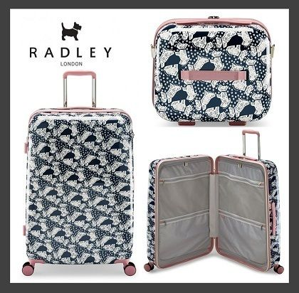 RADLEY FOLK DOG LARGE FOUR WHEEL SUITCASE SET (送料・関税込)