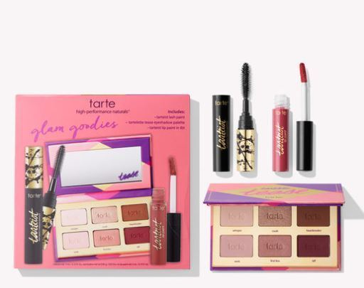 Tarte☆限定(limited-edition glam goodies discovery set)