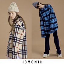 [13MONTH]★ ウールシャツ FLANNEL CHECK SHIRT JACKET 2色