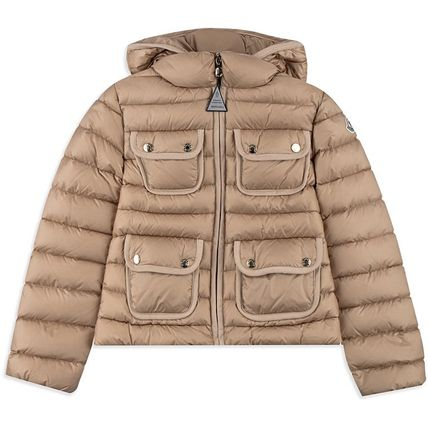 "17-18AW大人も着れる Moncler ""Donner""ベージュ(-14y)"