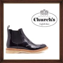 ★CHURCH'S《チャーチ》LEATHER BOOTS WITH STUDS   送料込★