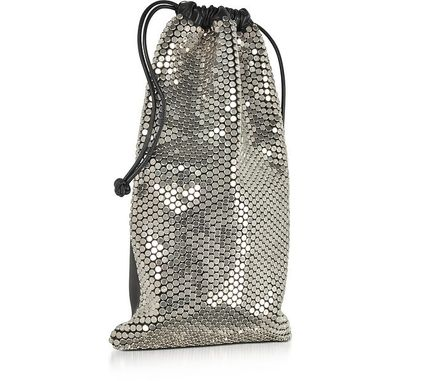 送料無料!☆彡Ryan Dust Bag w/Flat Silvertone Studs