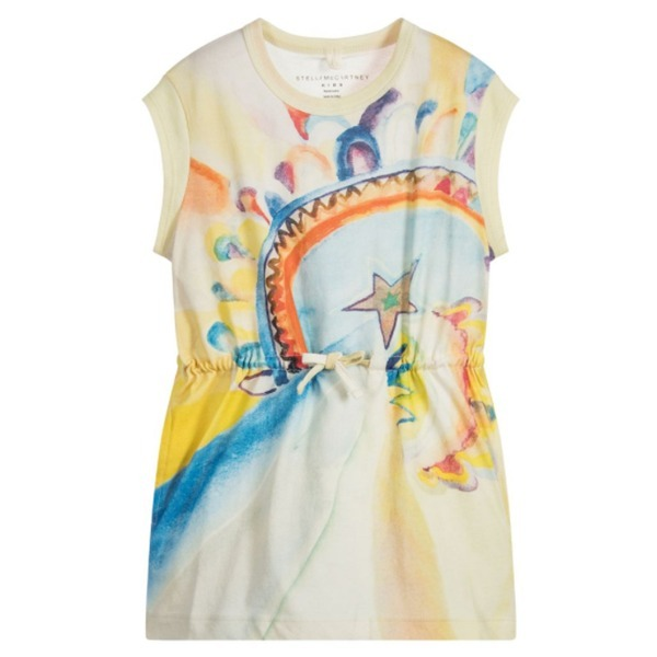 【大人もOK】STELLA MCCARTNEY KIDS イエロー Carrie ドレス