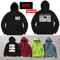 Supreme AKIRA コラボ Patches Hooded Sweatshirt 17AW 送料込み