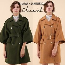 国内発送・送関込☆Chicwish☆Mellow Charisma Wool-Blend Coat
