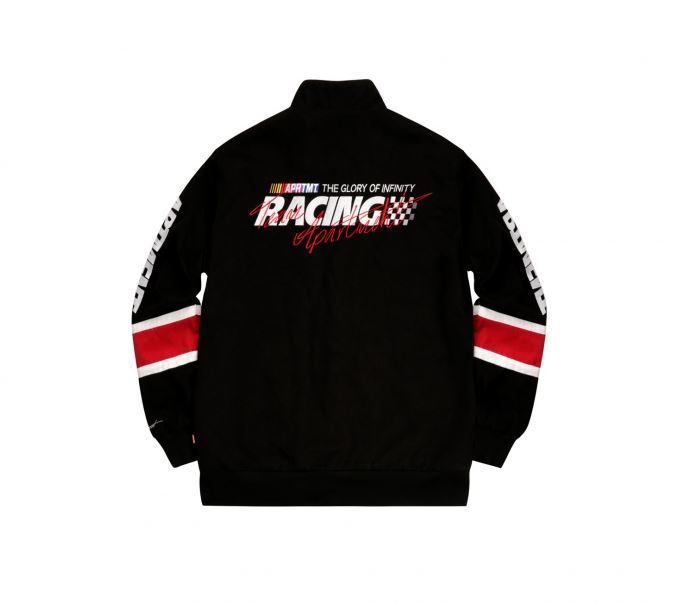 APARTMENTのChasing Dream Racing Jacket 全3色
