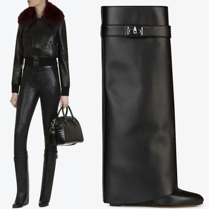 17-18AW G194 SHARK LOCK HIGH BOOTS IN MAREMMA LEATHER