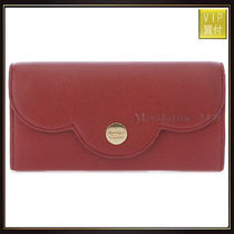 【シーバイクロエ】Red Leather Continental Wallet 長財布