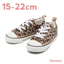 ★CONVERSE★ALL STAR N LEOPARDFUR OX チャイルドオールスター