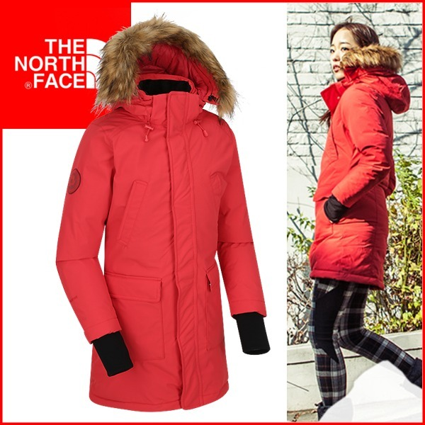 THE NORTH FACE☆W 'S MCMURDO DOWN COAT 色:RED ☆NVC1DG80☆