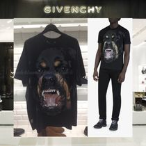 【18SS NEW】GIVENCHY_men /ROTTWEILER PRINTED TシャツBK