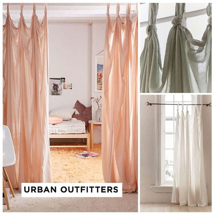 Urban Outfitters カーテン  UrbanOutfitters☆Knotted Window Curtain☆ 税関送料込