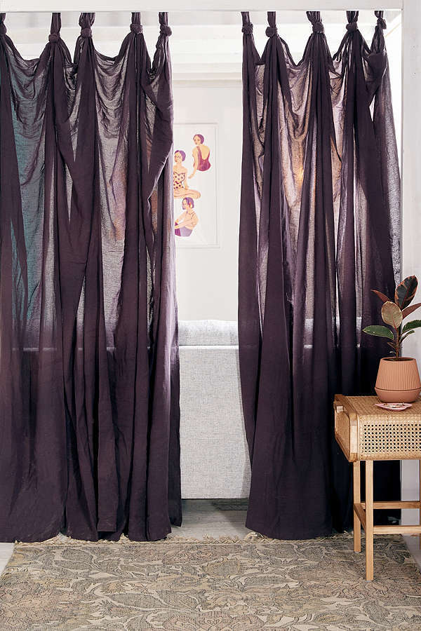 UrbanOutfitters☆Knotted Window Curtain☆ 税関送料込