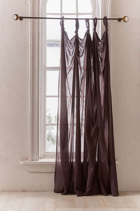 Urban Outfitters カーテン  UrbanOutfitters☆Knotted Window Curtain☆ 税関送料込(3)