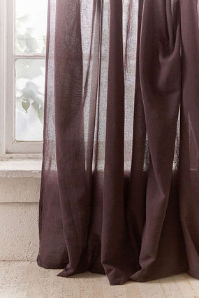 Urban Outfitters カーテン  UrbanOutfitters☆Knotted Window Curtain☆ 税関送料込(4)